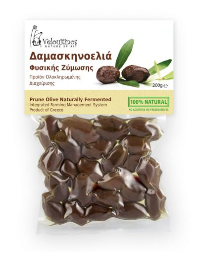 Velouitinos Prune Olives Naturally Fermented 200g