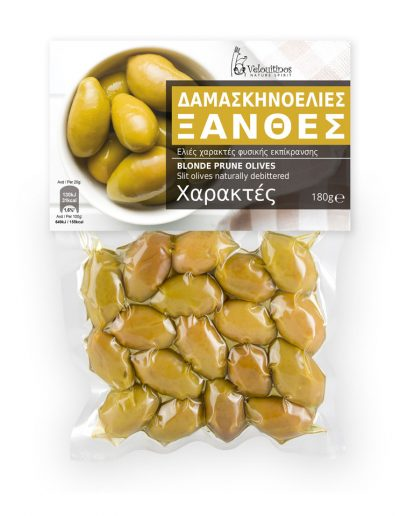 Velouitinos Blonde Prune Olives 180g