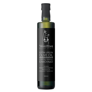 Velouitinos Extra Virgin Olive Oil Product of Organic Farming 500ml